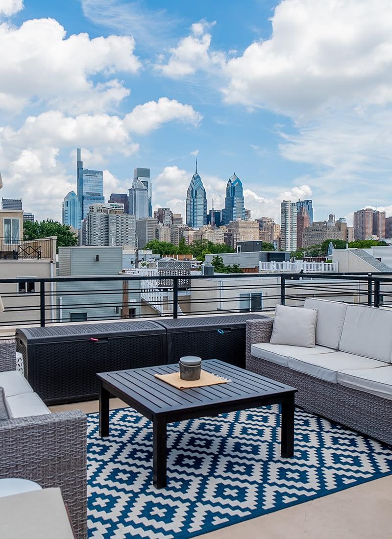 Philadelphia Real Estate Photography   Roof Deck Media